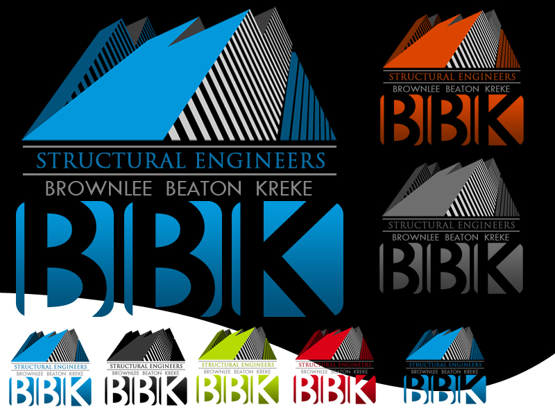 Logo Design by Robert Turla - Entry No. 131 in the Logo Design Contest Logo Design Needed for Exciting New Company BBK Consulting Engineers.