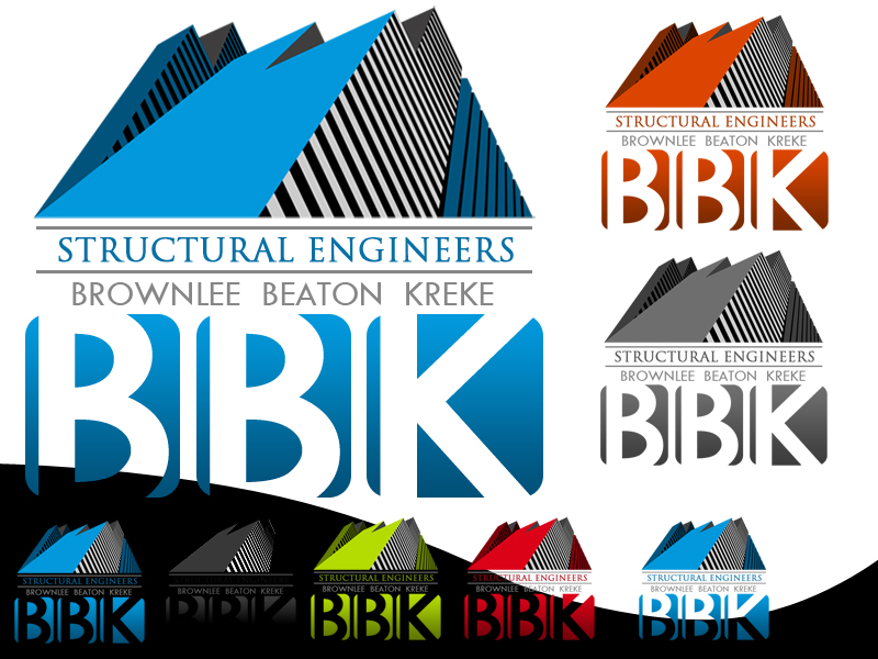 Logo Design by Robert Turla - Entry No. 132 in the Logo Design Contest Logo Design Needed for Exciting New Company BBK Consulting Engineers.
