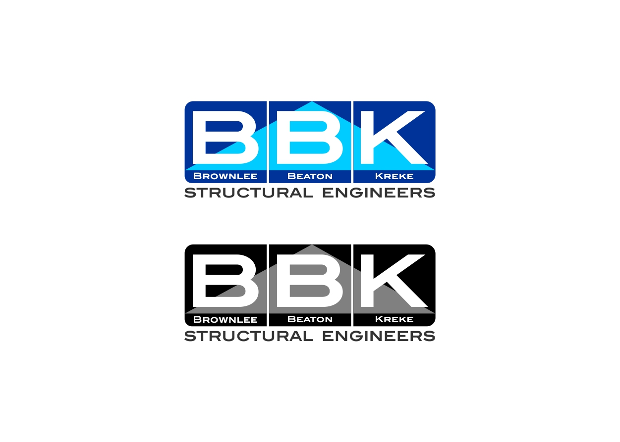 Logo Design by dzoker - Entry No. 135 in the Logo Design Contest Logo Design Needed for Exciting New Company BBK Consulting Engineers.