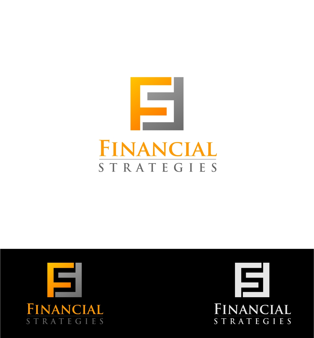 Logo Design by haidu - Entry No. 189 in the Logo Design Contest Logo Design Needed for Exciting New Company FS Financial Strategies.