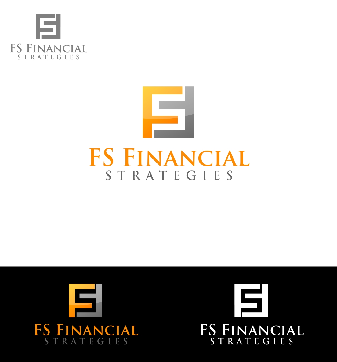 Logo Design by haidu - Entry No. 190 in the Logo Design Contest Logo Design Needed for Exciting New Company FS Financial Strategies.
