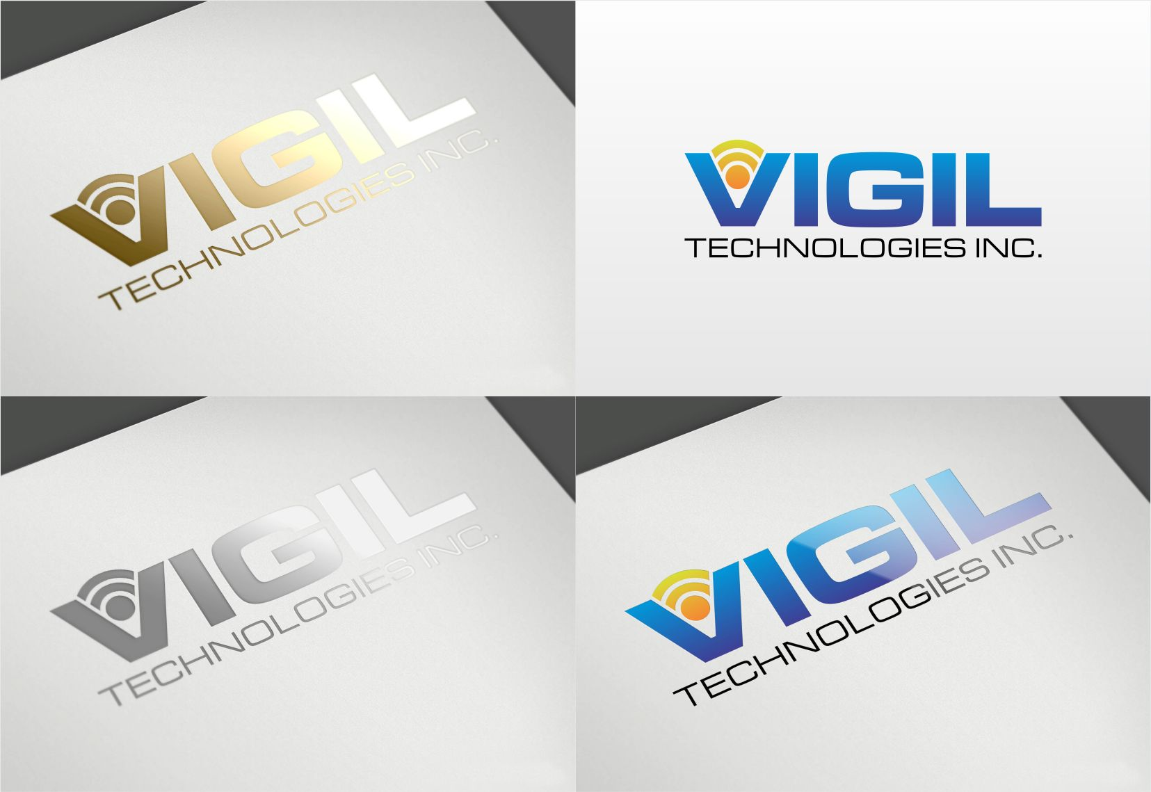 Logo Design by sihanss - Entry No. 14 in the Logo Design Contest New Logo Design for Vigil Technologies Inc..
