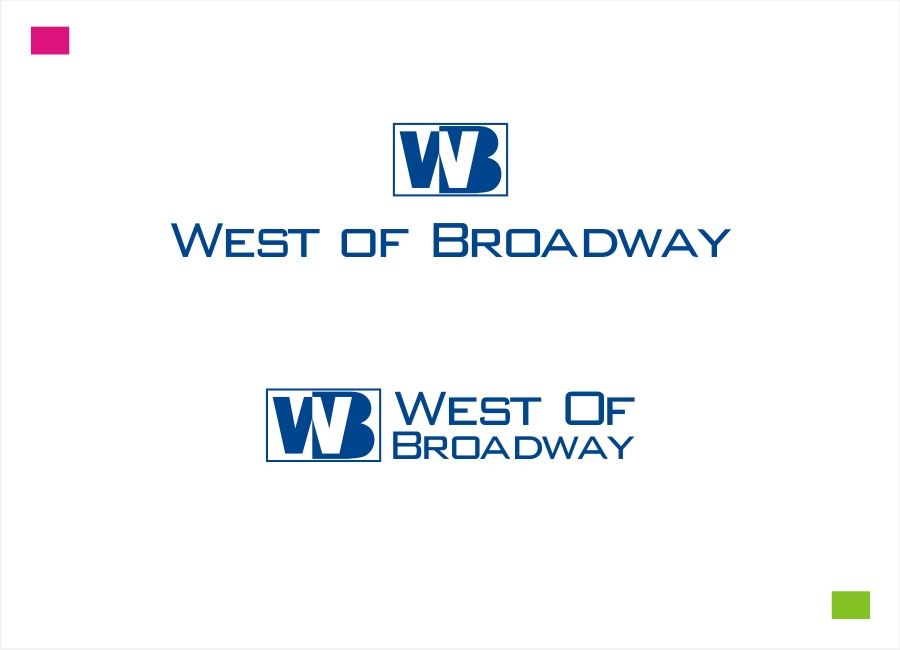 Logo Design by Private User - Entry No. 92 in the Logo Design Contest Unique Logo Design Wanted for West of Broadway.