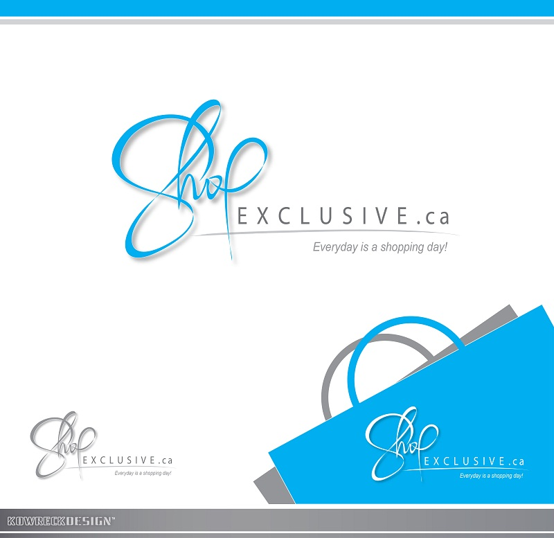 Logo Design by kowreck - Entry No. 126 in the Logo Design Contest Logo Design needed for branding exciting new company:  ShopExclusive.ca.