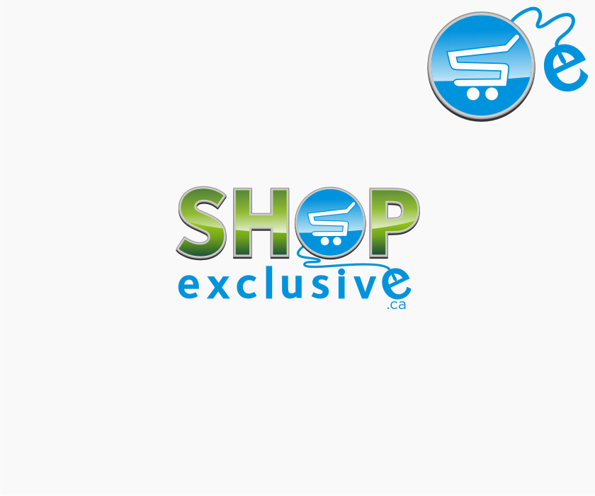 Logo Design by graphicleaf - Entry No. 134 in the Logo Design Contest Logo Design needed for branding exciting new company:  ShopExclusive.ca.