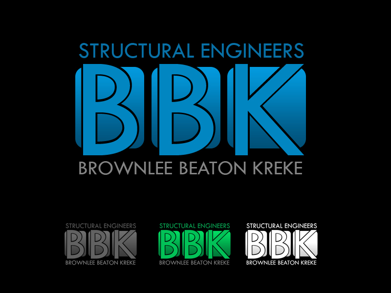 Logo Design by Robert Turla - Entry No. 145 in the Logo Design Contest Logo Design Needed for Exciting New Company BBK Consulting Engineers.