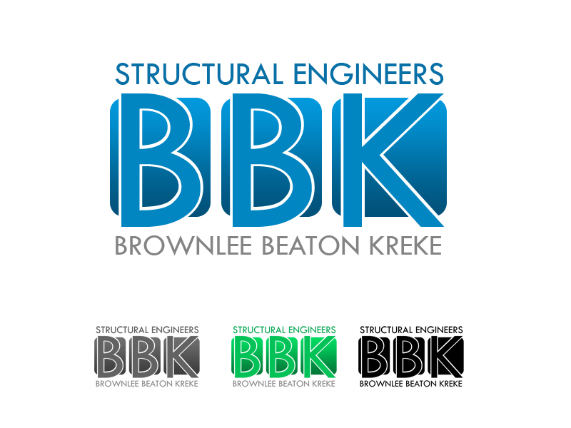 Logo Design by Private User - Entry No. 146 in the Logo Design Contest Logo Design Needed for Exciting New Company BBK Consulting Engineers.