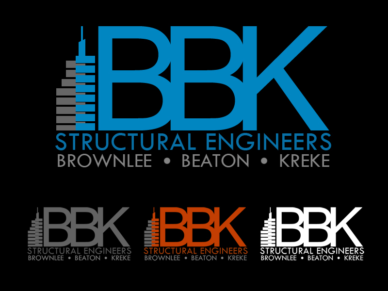 Logo Design by Private User - Entry No. 147 in the Logo Design Contest Logo Design Needed for Exciting New Company BBK Consulting Engineers.