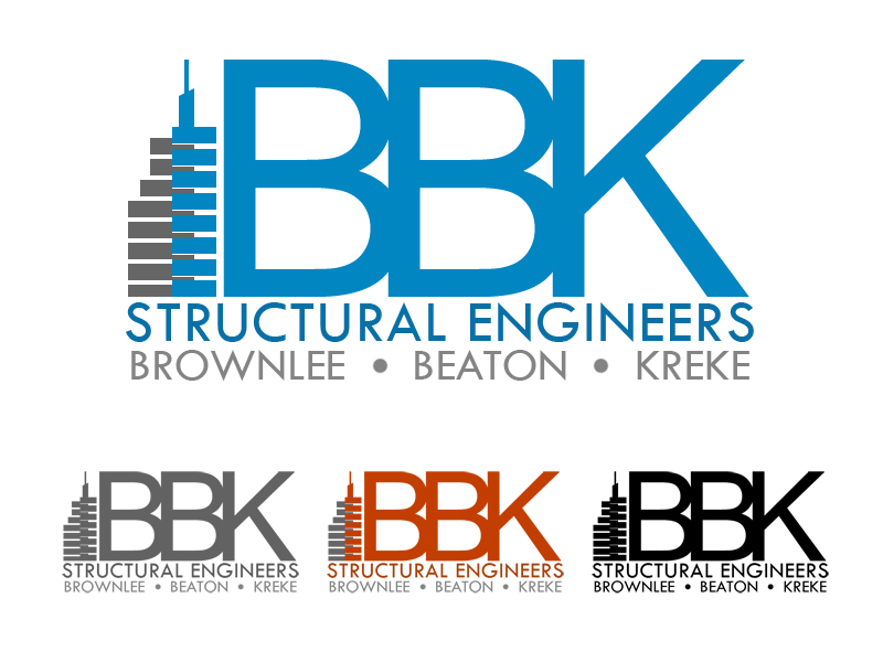 Logo Design by Private User - Entry No. 148 in the Logo Design Contest Logo Design Needed for Exciting New Company BBK Consulting Engineers.