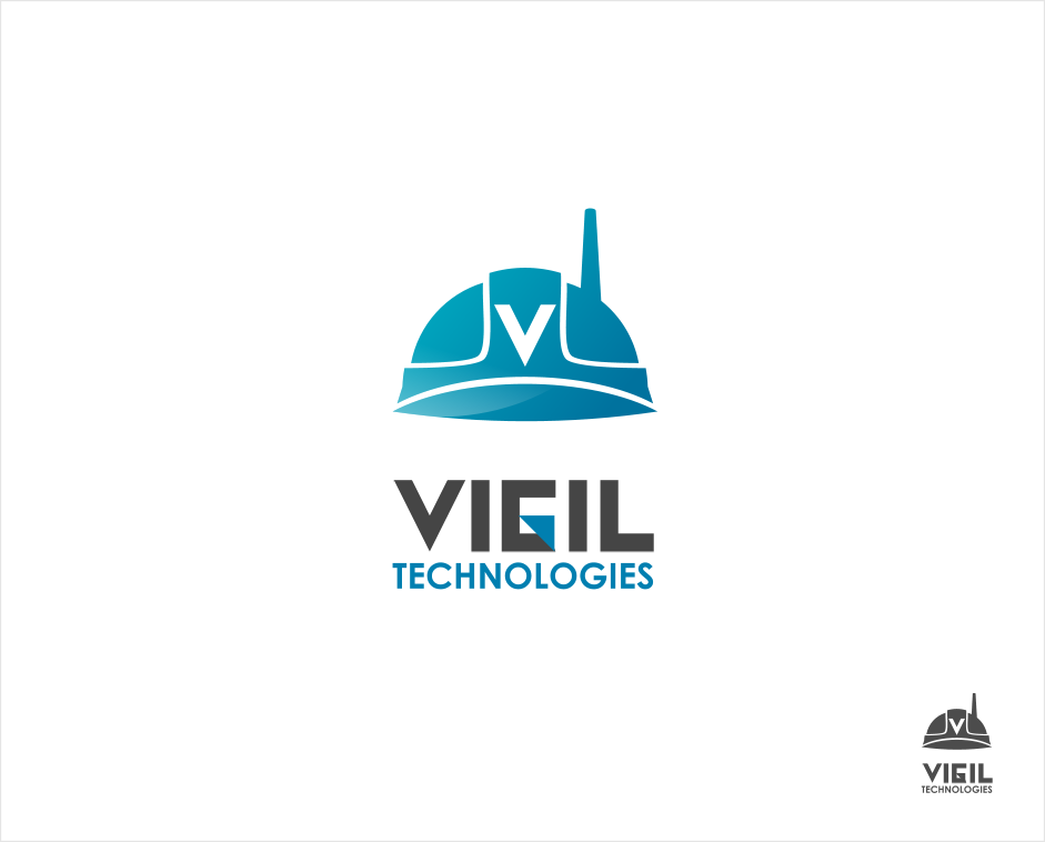 Logo Design by Jorge Sardon - Entry No. 20 in the Logo Design Contest New Logo Design for Vigil Technologies Inc..