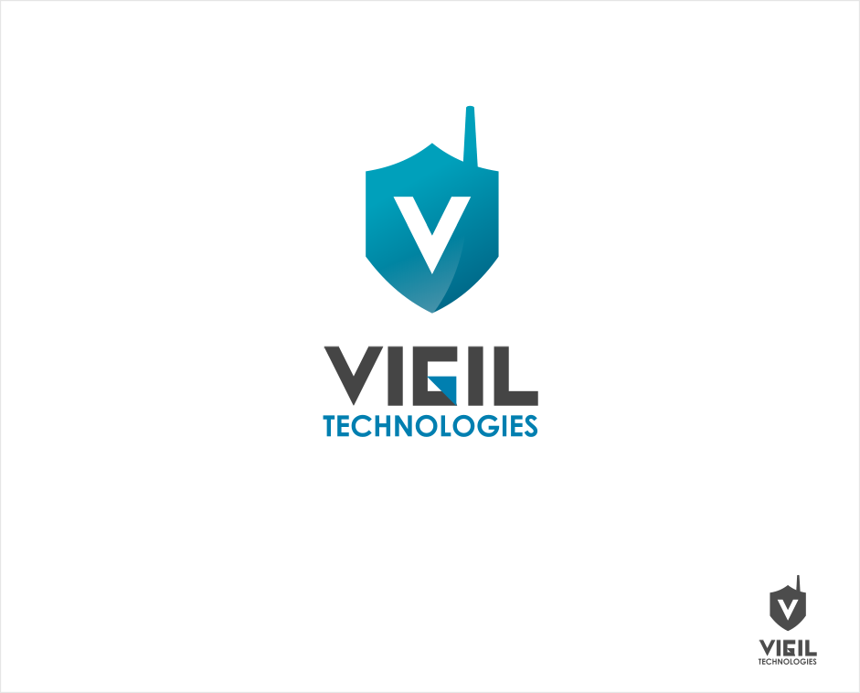 Logo Design by Jorge Sardon - Entry No. 21 in the Logo Design Contest New Logo Design for Vigil Technologies Inc..