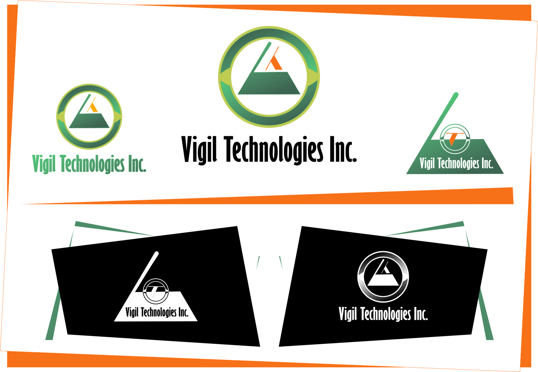 Logo Design by RasYa Muhammad Athaya - Entry No. 22 in the Logo Design Contest New Logo Design for Vigil Technologies Inc..