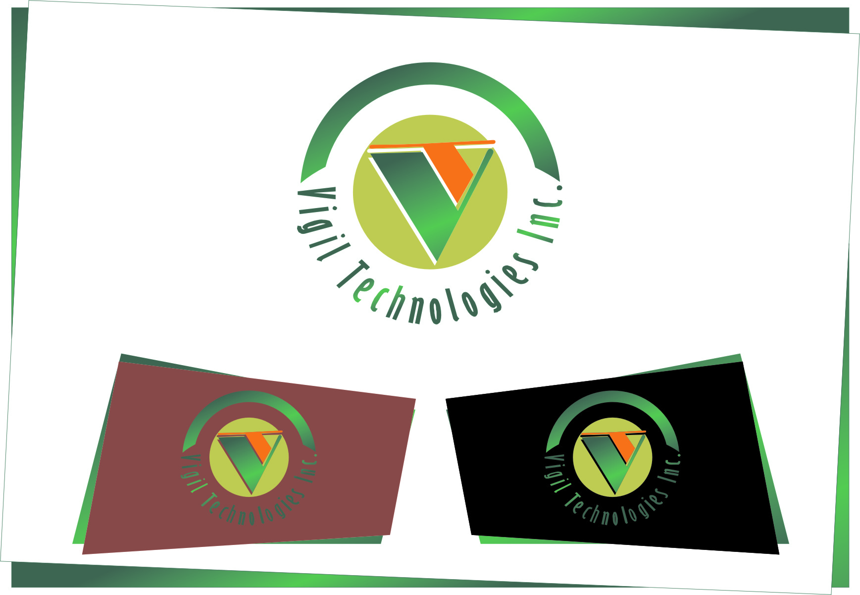 Logo Design by RasYa Muhammad Athaya - Entry No. 23 in the Logo Design Contest New Logo Design for Vigil Technologies Inc..