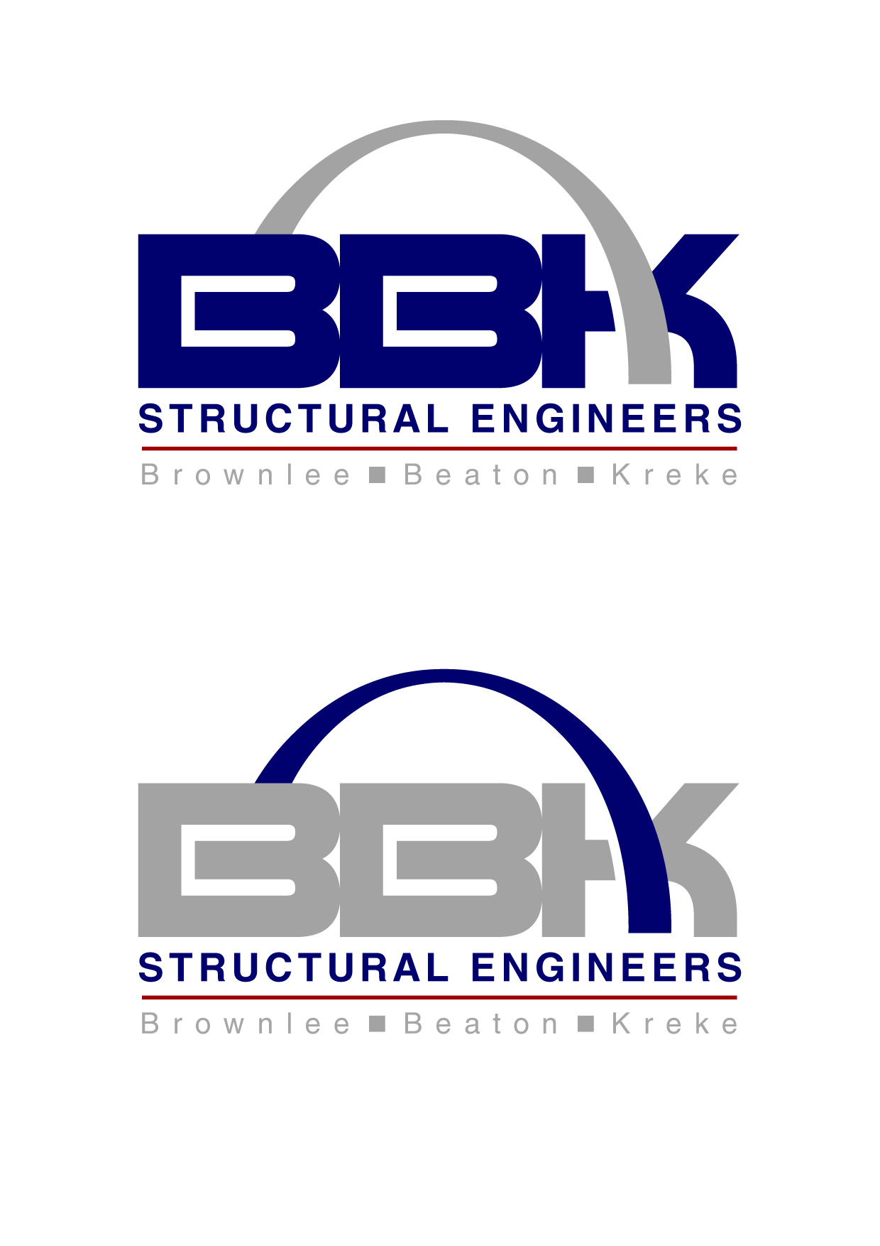 Logo Design by Wilfredo Mendoza - Entry No. 156 in the Logo Design Contest Logo Design Needed for Exciting New Company BBK Consulting Engineers.