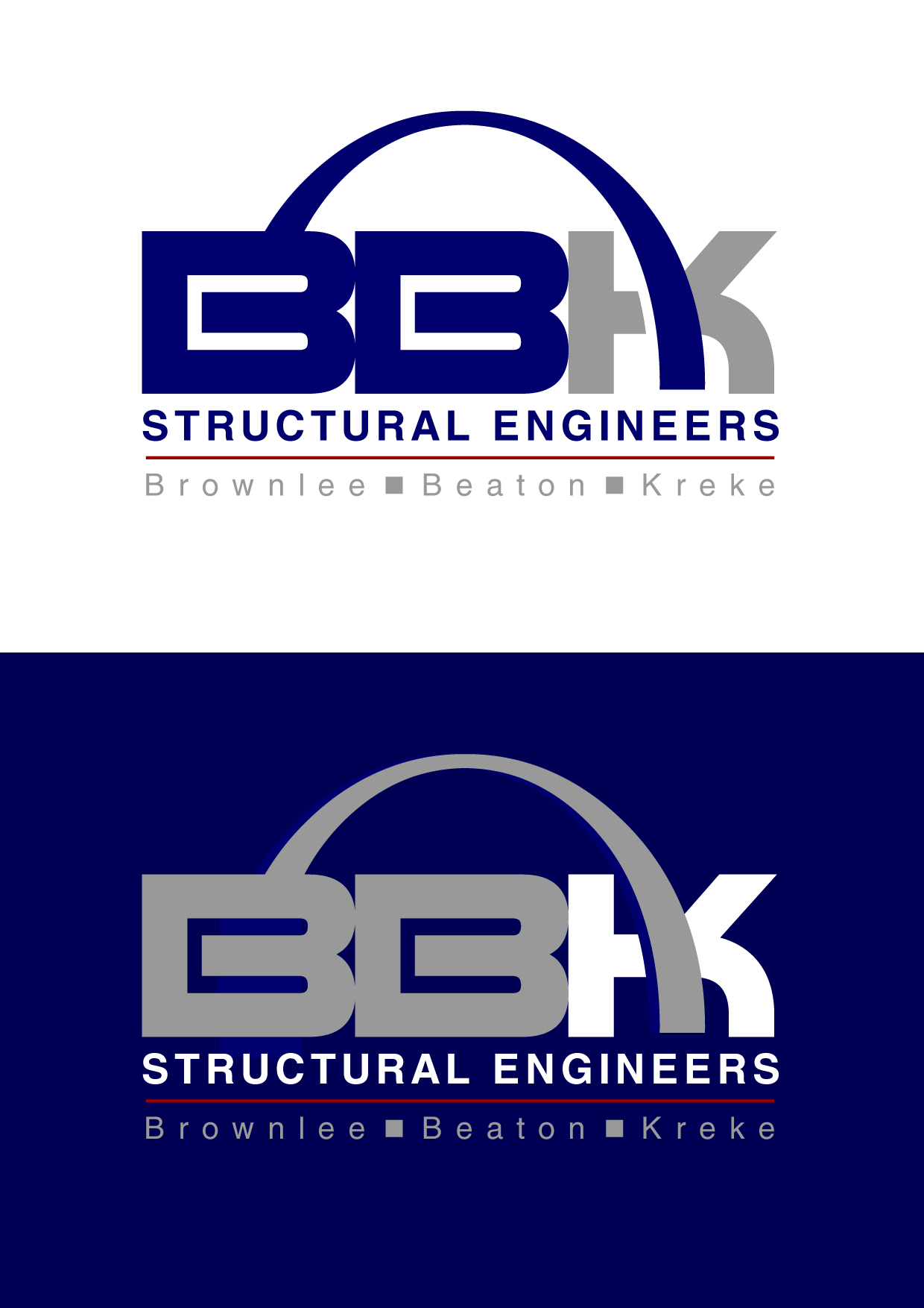 Logo Design by Wilfredo Mendoza - Entry No. 157 in the Logo Design Contest Logo Design Needed for Exciting New Company BBK Consulting Engineers.