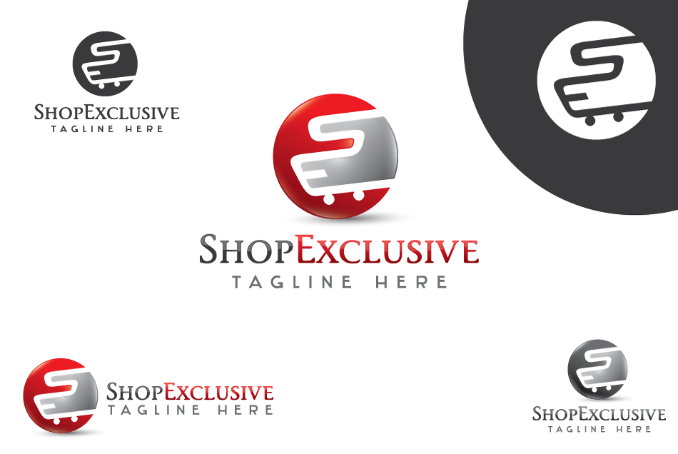 Logo Design by Dipin Bishwakarma - Entry No. 141 in the Logo Design Contest Logo Design needed for branding exciting new company:  ShopExclusive.ca.