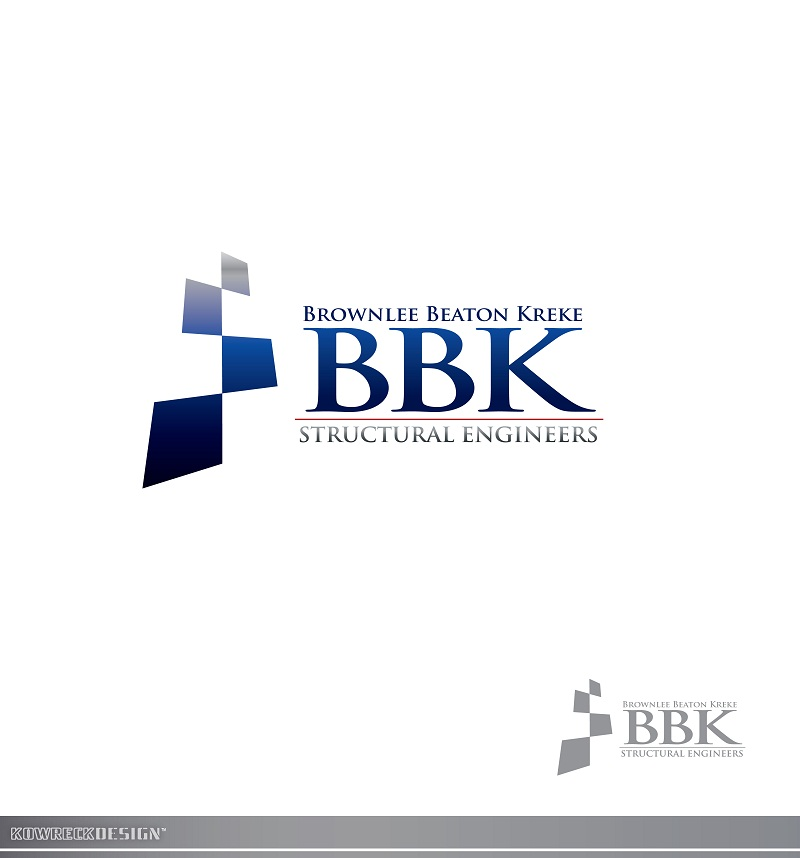 Logo Design by kowreck - Entry No. 165 in the Logo Design Contest Logo Design Needed for Exciting New Company BBK Consulting Engineers.