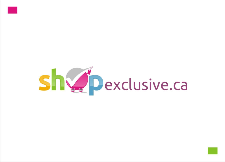 Logo Design by Private User - Entry No. 144 in the Logo Design Contest Logo Design needed for branding exciting new company:  ShopExclusive.ca.