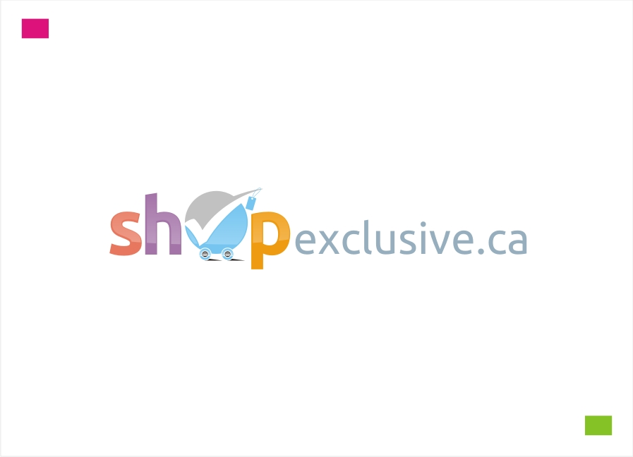 Logo Design by Private User - Entry No. 146 in the Logo Design Contest Logo Design needed for branding exciting new company:  ShopExclusive.ca.