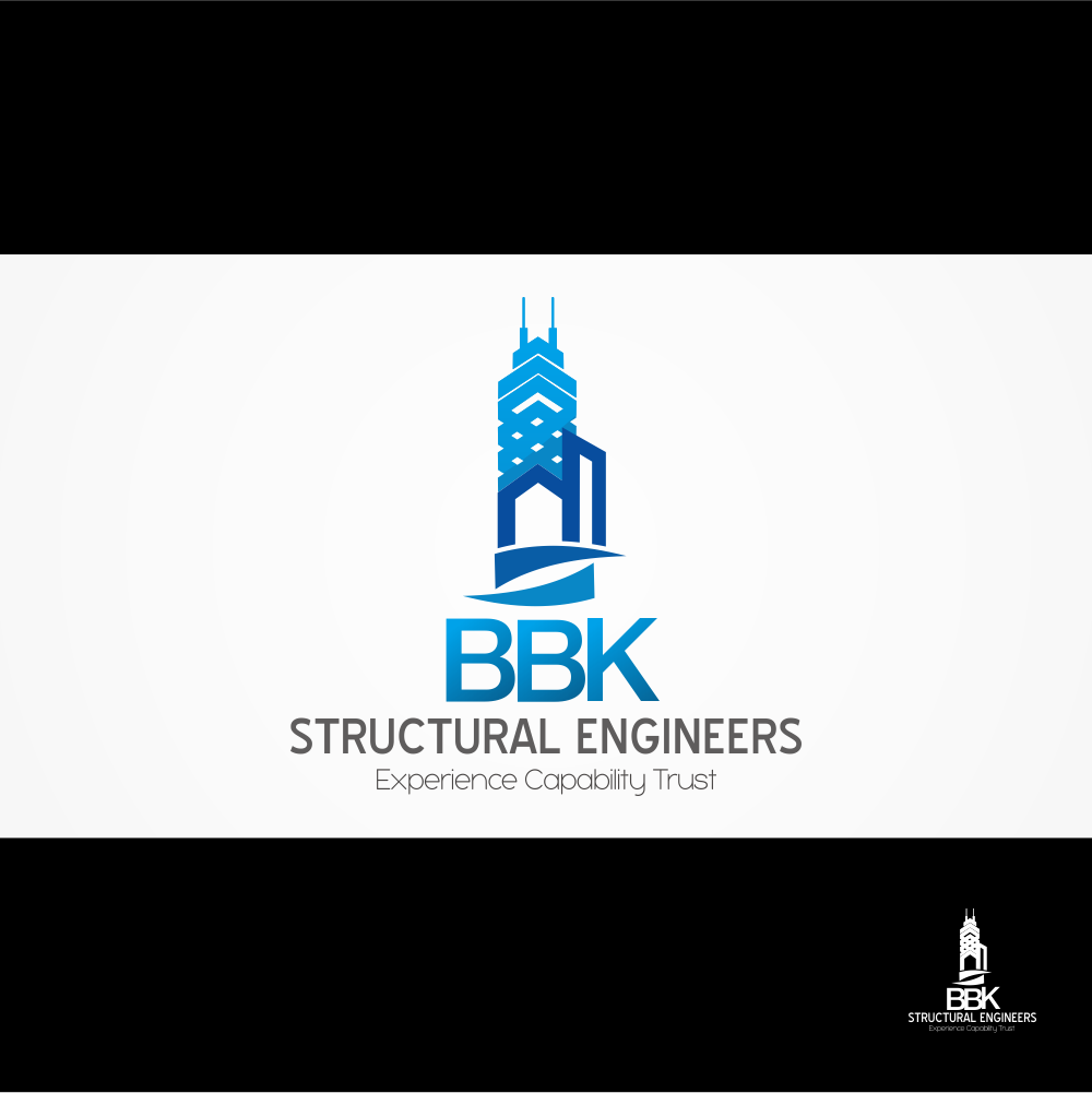 Logo Design by Raja Gowa - Entry No. 184 in the Logo Design Contest Logo Design Needed for Exciting New Company BBK Consulting Engineers.