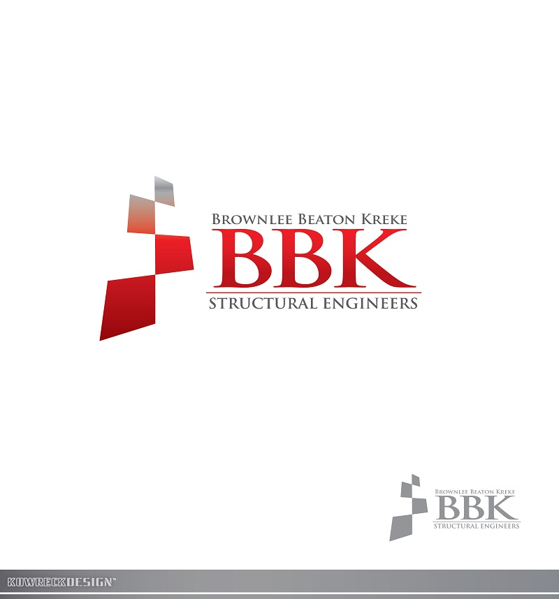 Logo Design by kowreck - Entry No. 189 in the Logo Design Contest Logo Design Needed for Exciting New Company BBK Consulting Engineers.