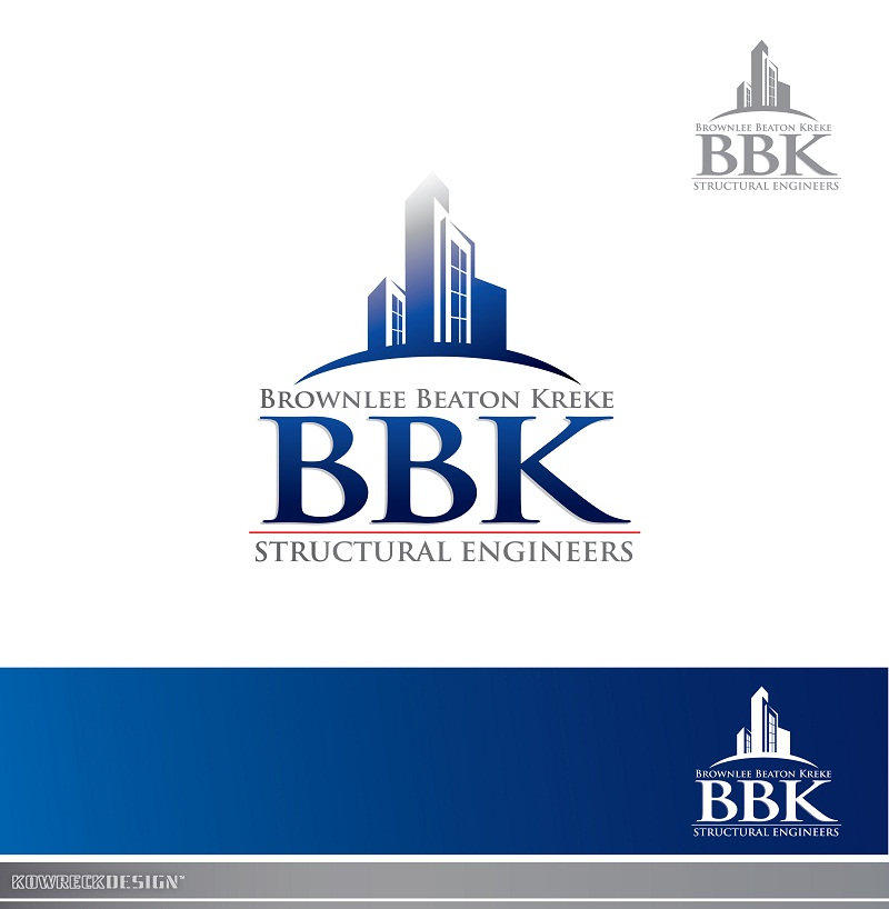 Logo Design by kowreck - Entry No. 191 in the Logo Design Contest Logo Design Needed for Exciting New Company BBK Consulting Engineers.