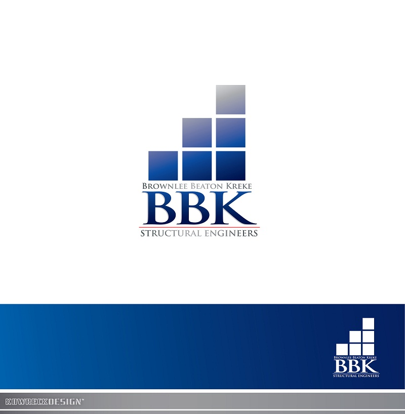 Logo Design by kowreck - Entry No. 192 in the Logo Design Contest Logo Design Needed for Exciting New Company BBK Consulting Engineers.