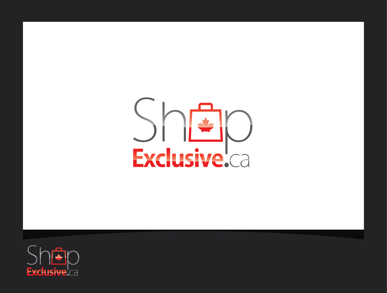 Logo Design by shariq_ssa - Entry No. 158 in the Logo Design Contest Logo Design needed for branding exciting new company:  ShopExclusive.ca.
