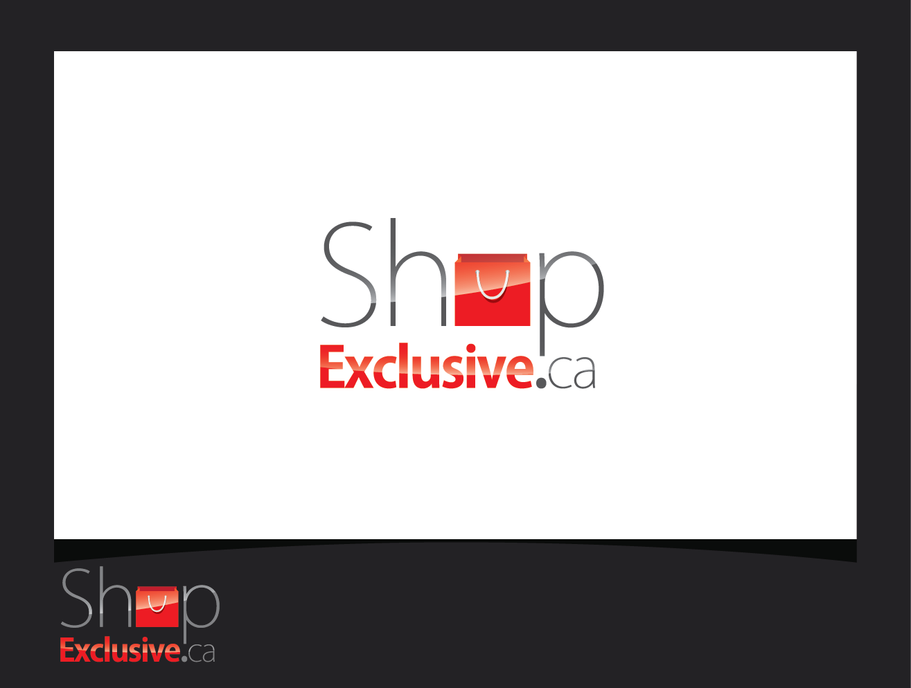 Logo Design by shariq_ssa - Entry No. 159 in the Logo Design Contest Logo Design needed for branding exciting new company:  ShopExclusive.ca.