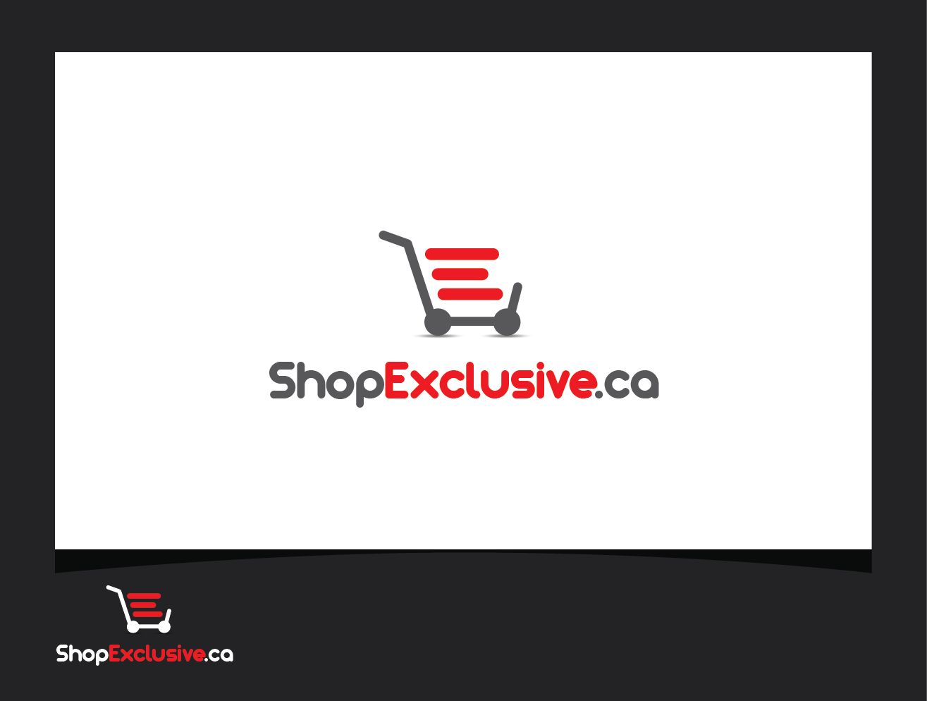 Logo Design by shariq_ssa - Entry No. 161 in the Logo Design Contest Logo Design needed for branding exciting new company:  ShopExclusive.ca.