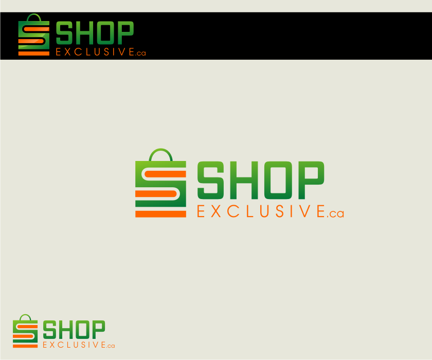 Logo Design by graphicleaf - Entry No. 168 in the Logo Design Contest Logo Design needed for branding exciting new company:  ShopExclusive.ca.