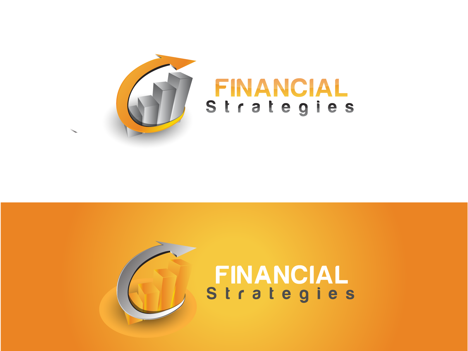 Logo Design by Jagdeep Singh - Entry No. 218 in the Logo Design Contest Logo Design Needed for Exciting New Company FS Financial Strategies.