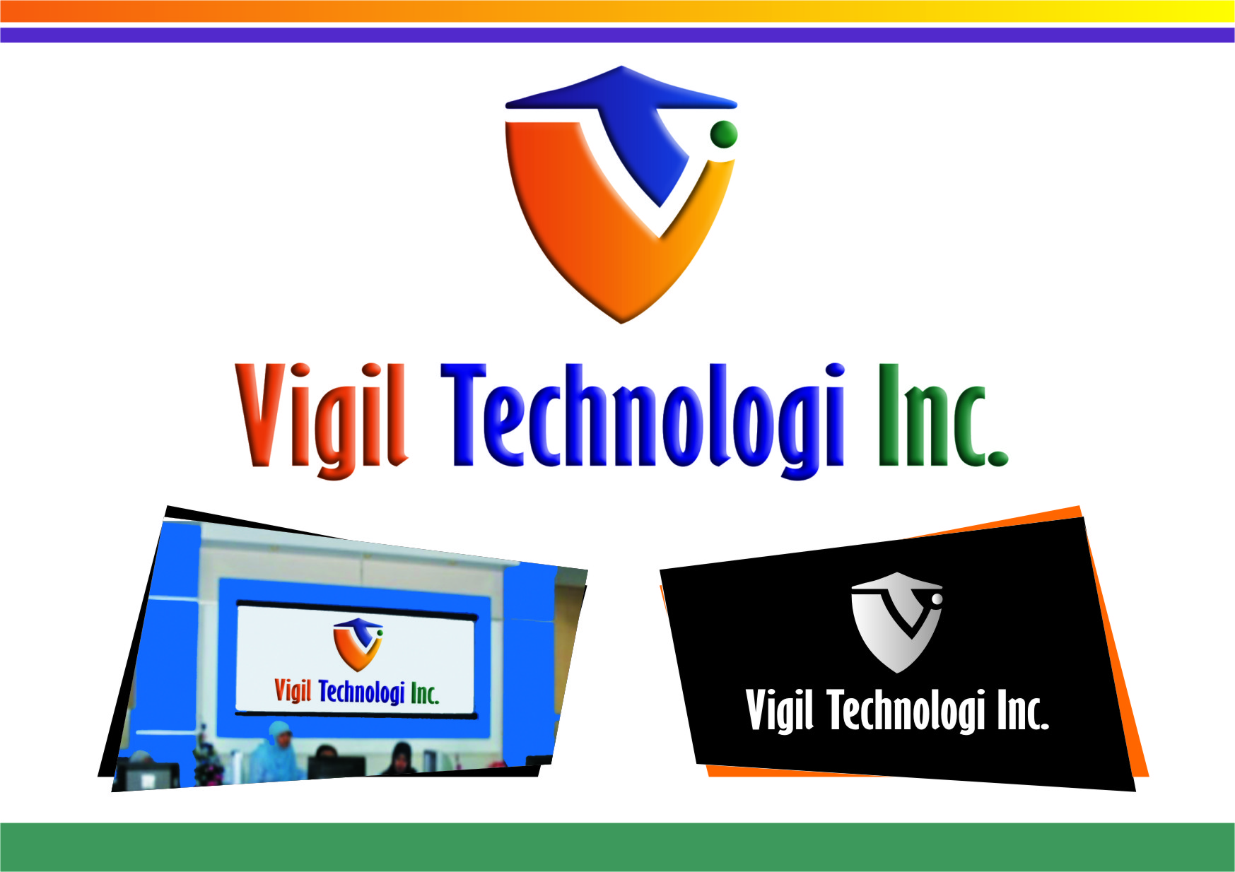 Logo Design by RoSyid Rono-Rene On Java - Entry No. 37 in the Logo Design Contest New Logo Design for Vigil Technologies Inc..