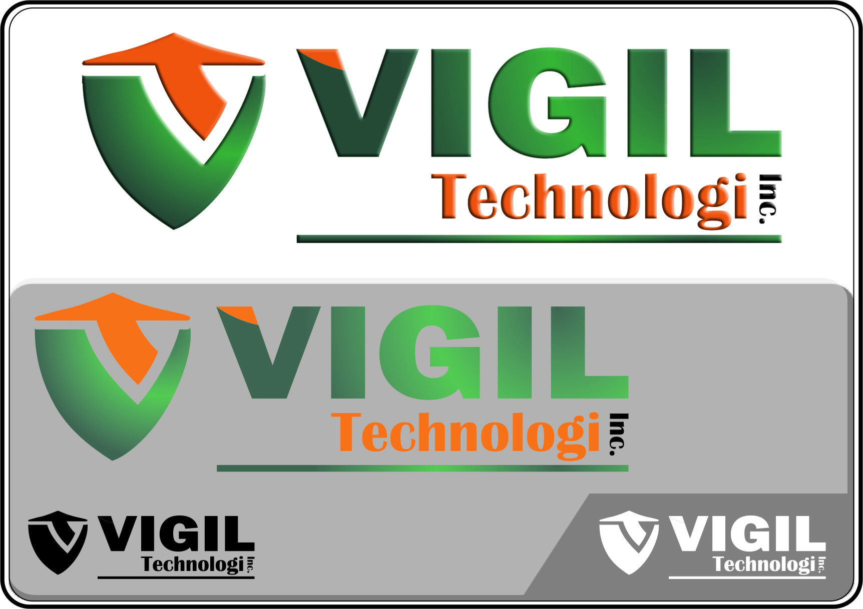 Logo Design by RasYa Muhammad Athaya - Entry No. 42 in the Logo Design Contest New Logo Design for Vigil Technologies Inc..