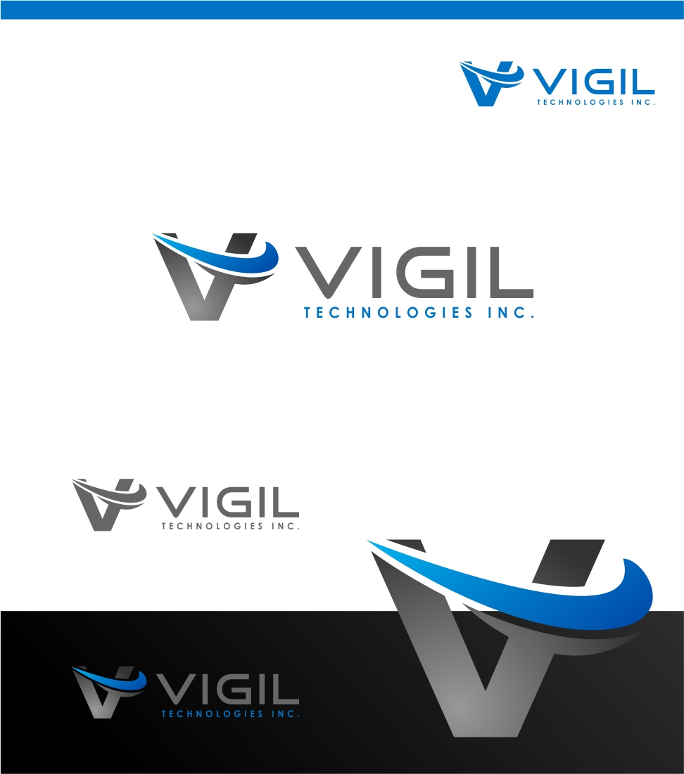 Logo Design by haidu - Entry No. 43 in the Logo Design Contest New Logo Design for Vigil Technologies Inc..