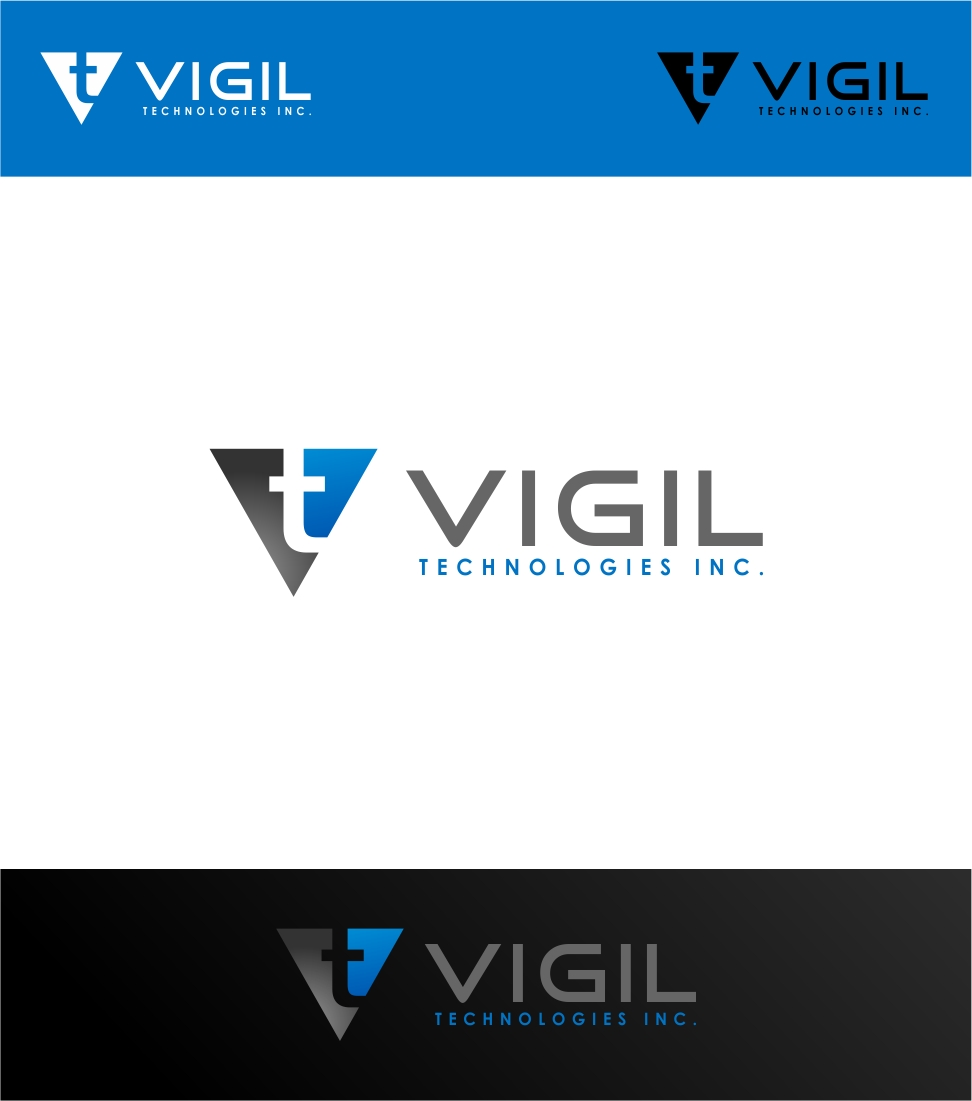 Logo Design by haidu - Entry No. 47 in the Logo Design Contest New Logo Design for Vigil Technologies Inc..