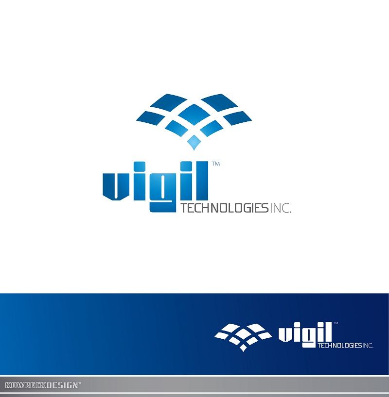 Logo Design by kowreck - Entry No. 49 in the Logo Design Contest New Logo Design for Vigil Technologies Inc..