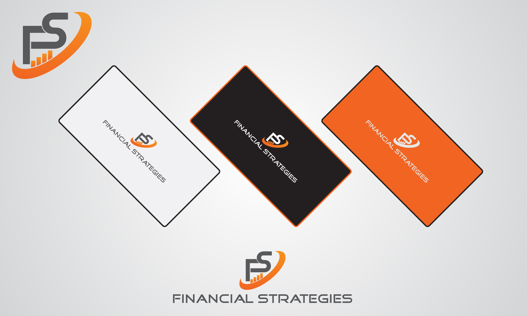 Logo Design by 3draw - Entry No. 235 in the Logo Design Contest Logo Design Needed for Exciting New Company FS Financial Strategies.