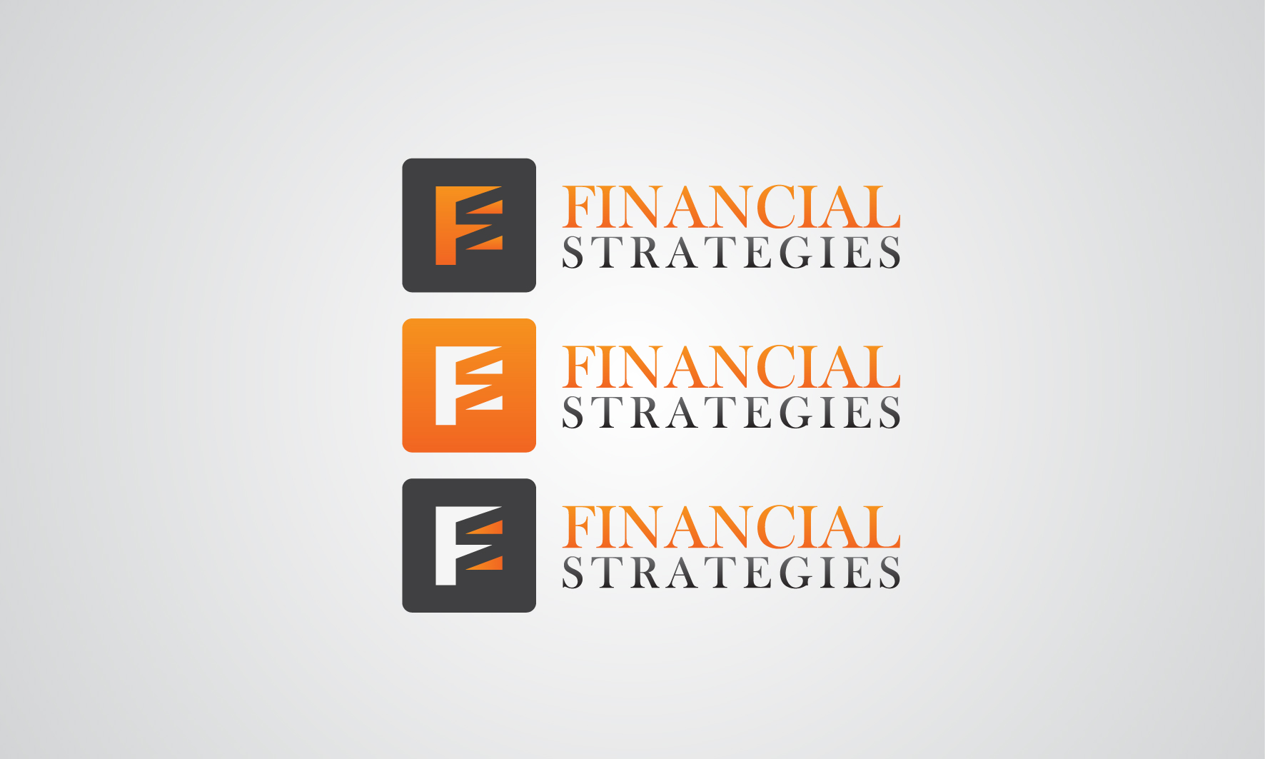 Logo Design by 3draw - Entry No. 239 in the Logo Design Contest Logo Design Needed for Exciting New Company FS Financial Strategies.