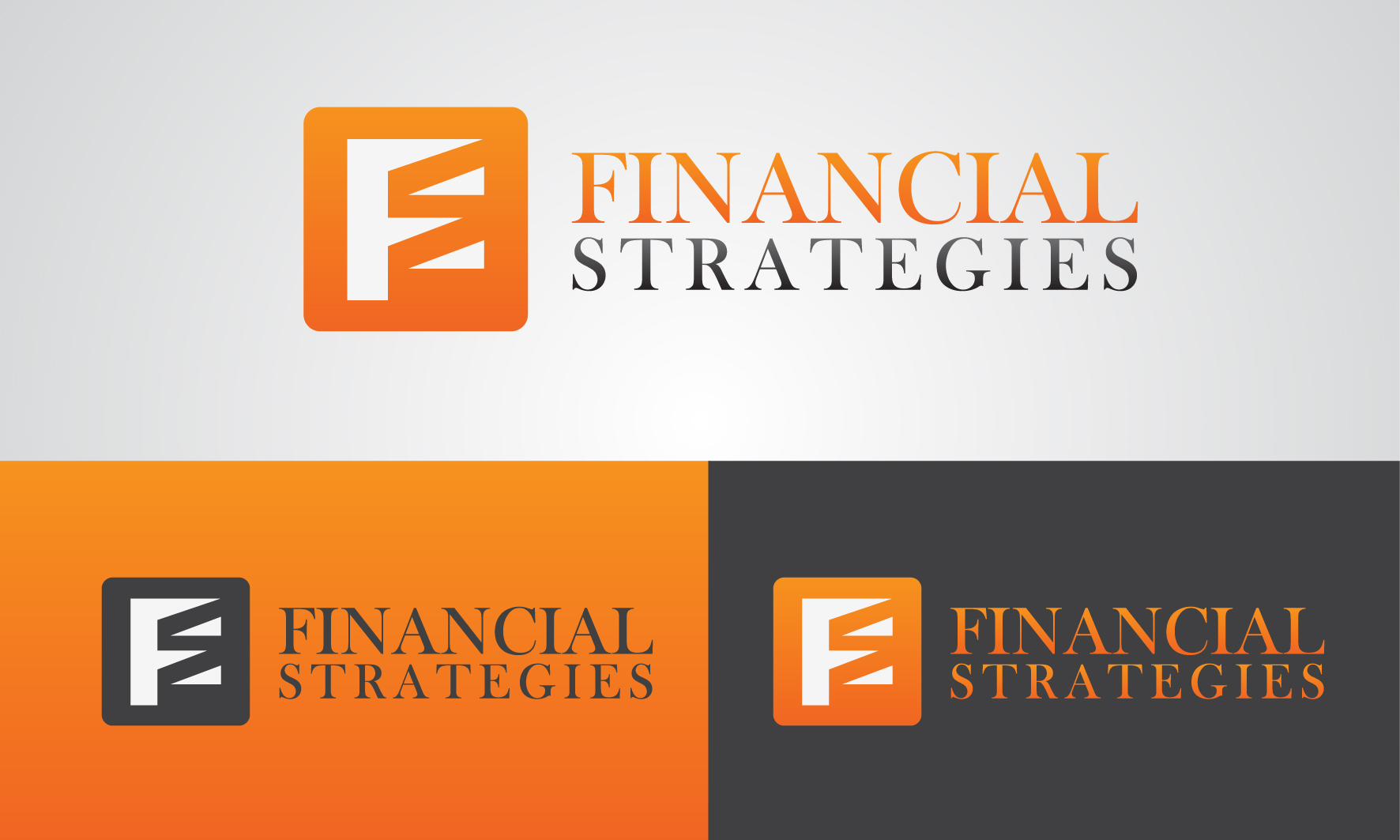 Logo Design by 3draw - Entry No. 240 in the Logo Design Contest Logo Design Needed for Exciting New Company FS Financial Strategies.
