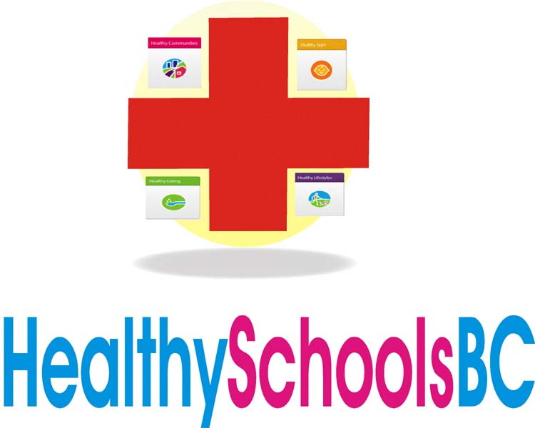 Logo Design by Najmul Ahmad - Entry No. 1 in the Logo Design Contest SImple, Creative and Clean Logo Design for Healthy Schools British Columbia, Canada.