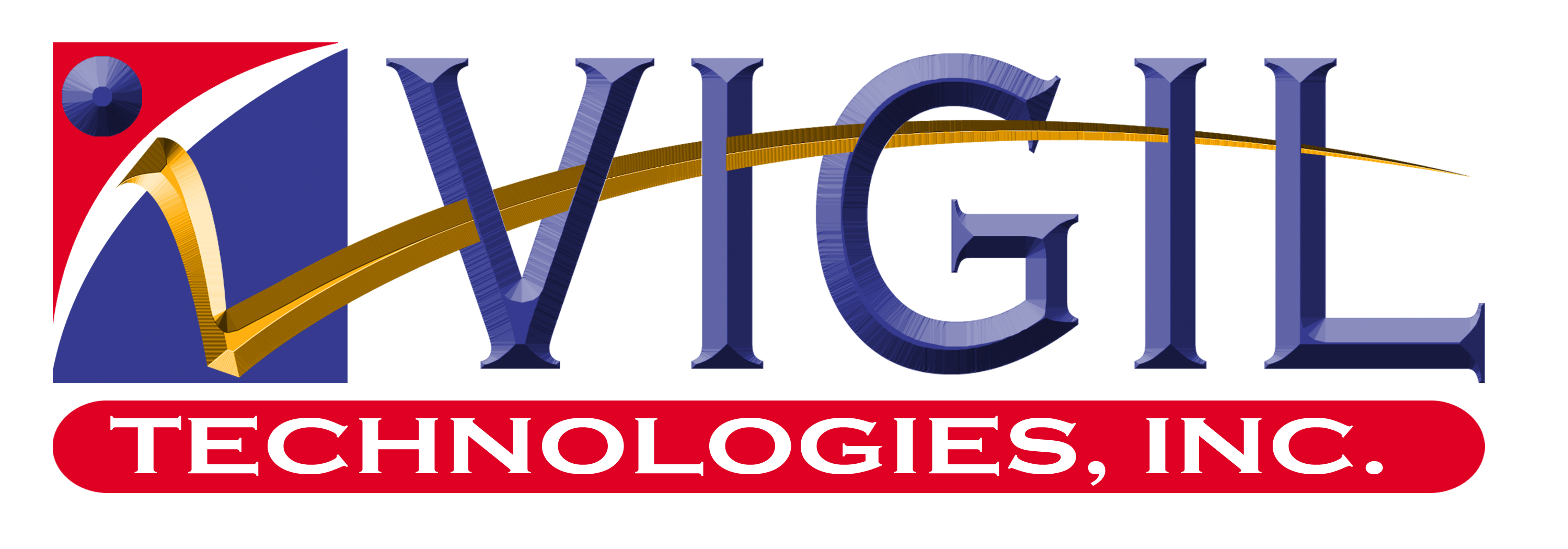 Logo Design by Kitz Clear - Entry No. 51 in the Logo Design Contest New Logo Design for Vigil Technologies Inc..