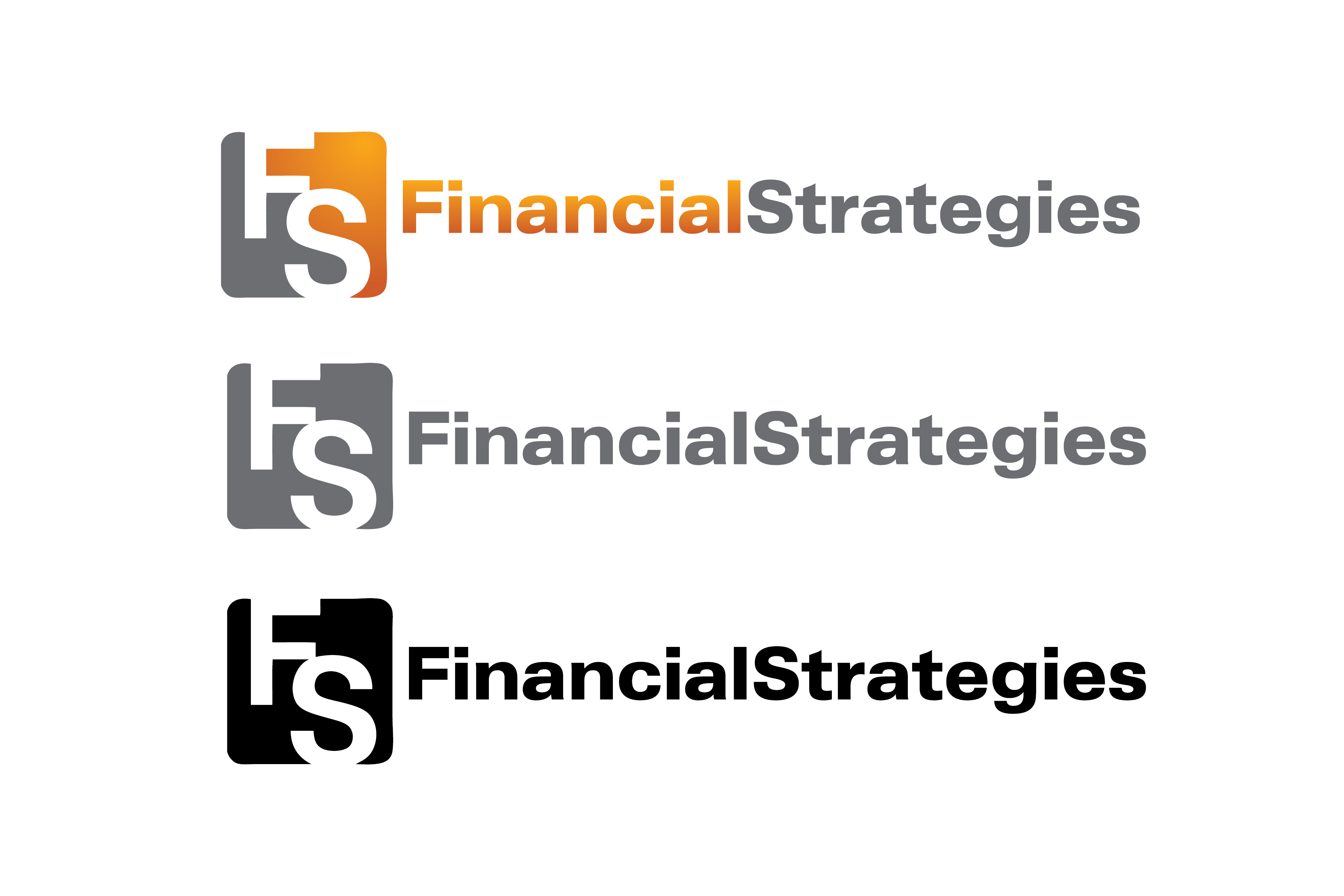 Logo Design by Muhammad Moinjaved - Entry No. 254 in the Logo Design Contest Logo Design Needed for Exciting New Company FS Financial Strategies.