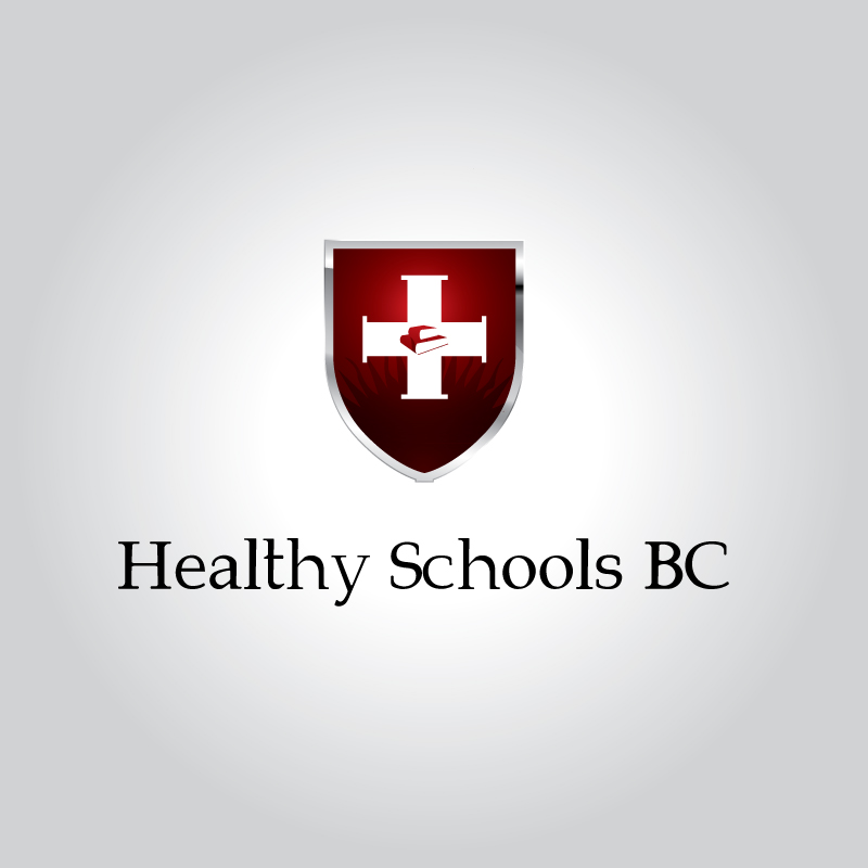 Logo Design by Suman Sahil Verma - Entry No. 2 in the Logo Design Contest SImple, Creative and Clean Logo Design for Healthy Schools British Columbia, Canada.