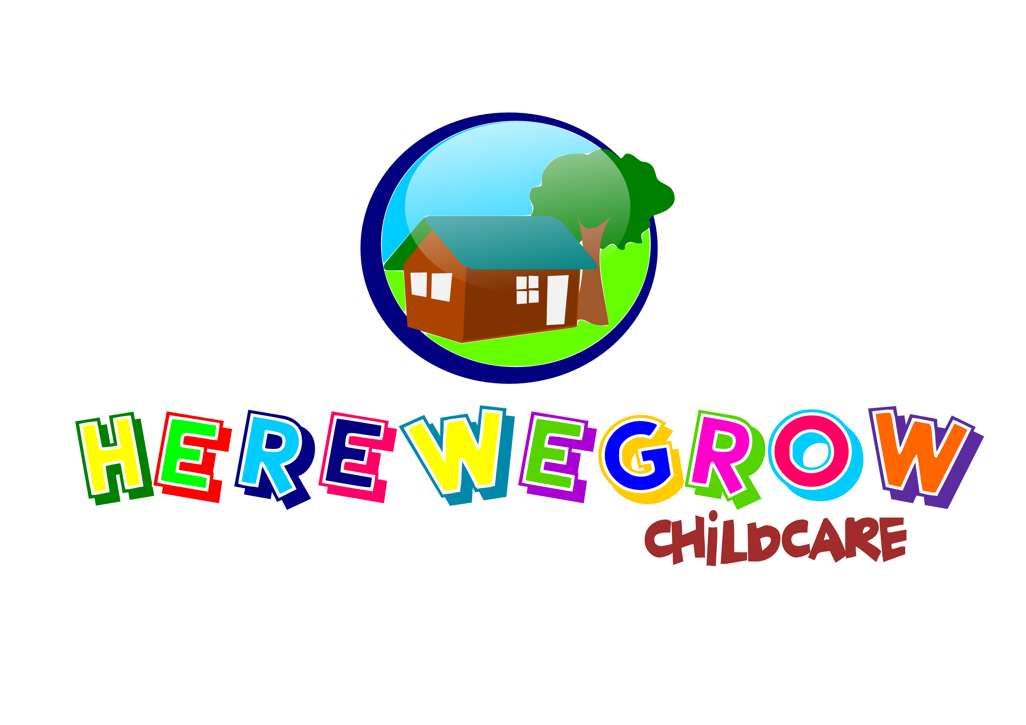 Logo Design by whoosef - Entry No. 7 in the Logo Design Contest Here We Grow Logo Design.