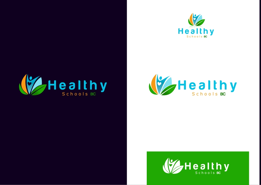 Logo Design by Private User - Entry No. 9 in the Logo Design Contest SImple, Creative and Clean Logo Design for Healthy Schools British Columbia, Canada.