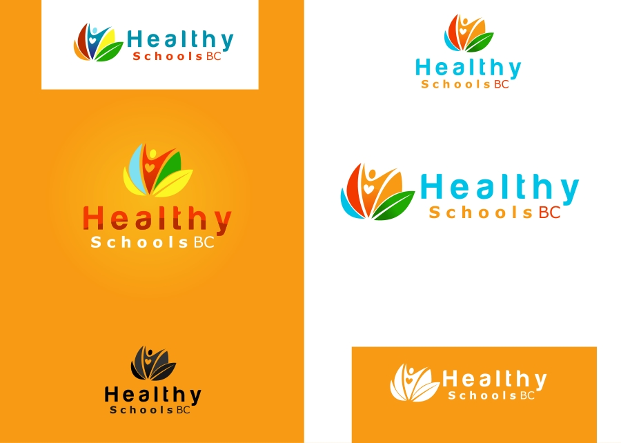 Logo Design by Private User - Entry No. 14 in the Logo Design Contest SImple, Creative and Clean Logo Design for Healthy Schools British Columbia, Canada.