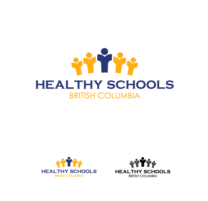 Logo Design by elmd - Entry No. 17 in the Logo Design Contest SImple, Creative and Clean Logo Design for Healthy Schools British Columbia, Canada.