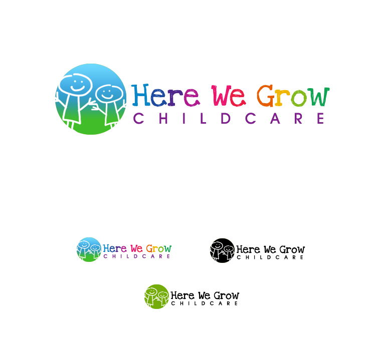 Logo Design by elmd - Entry No. 23 in the Logo Design Contest Here We Grow Logo Design.