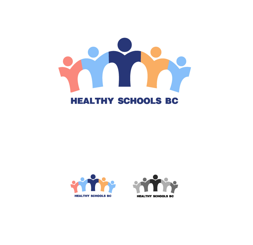 Logo Design by elmd - Entry No. 18 in the Logo Design Contest SImple, Creative and Clean Logo Design for Healthy Schools British Columbia, Canada.
